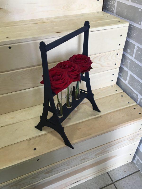 Вазочка PARIS на 3 розы