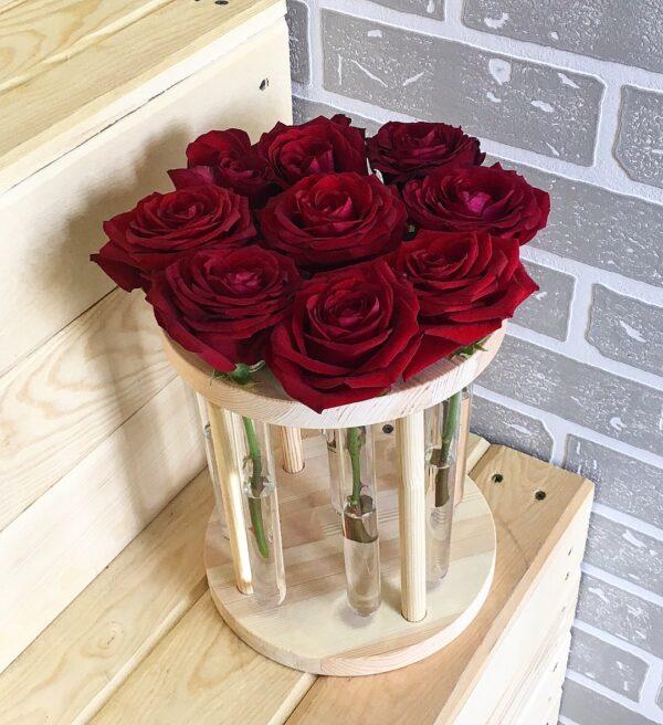 Вазочка КРУГ на 9 роз