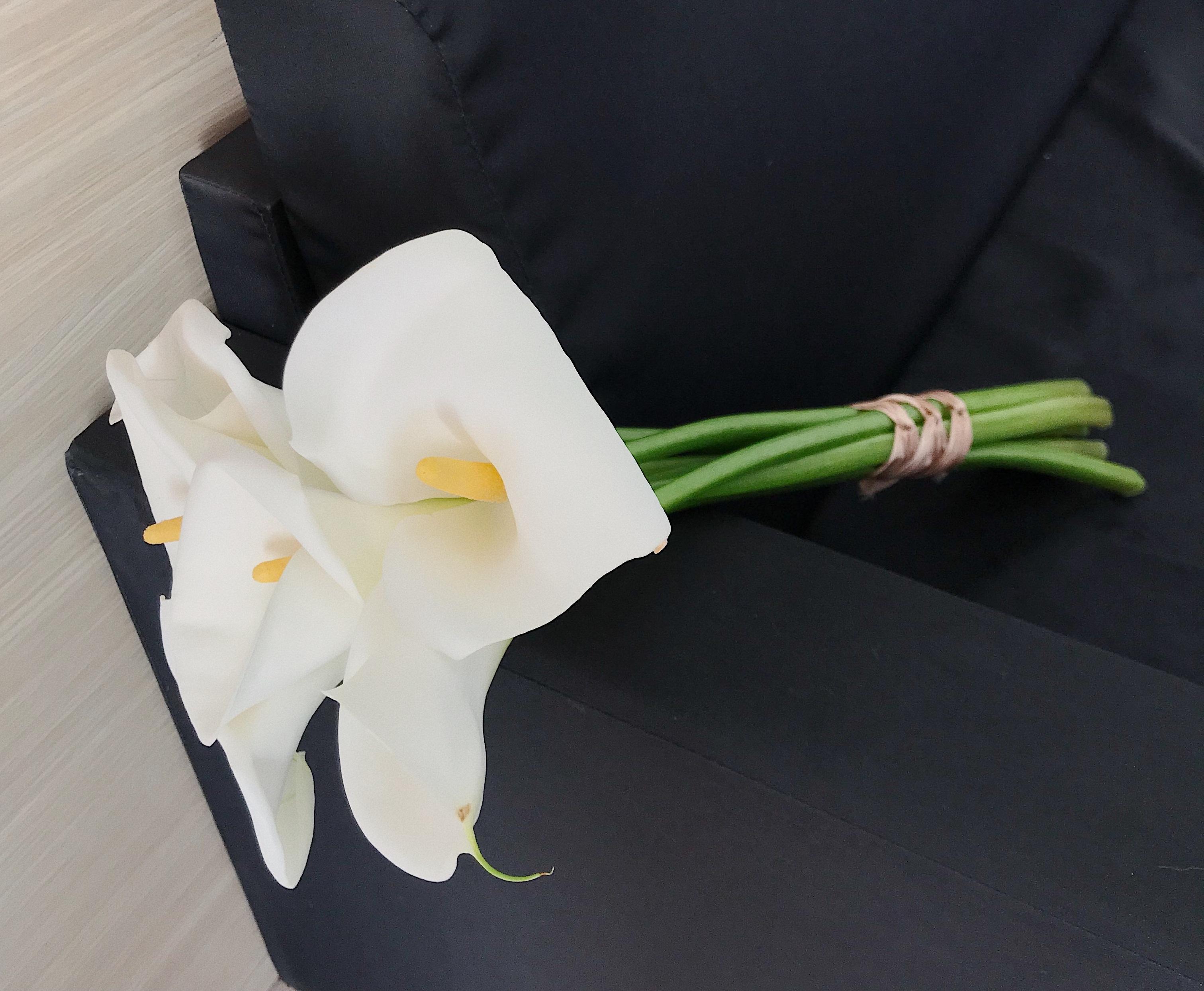 Цветы голландии, букет из одной каллы