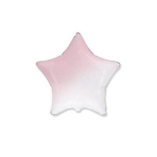 Шар 18″/46см фольгированный Градиент розовый