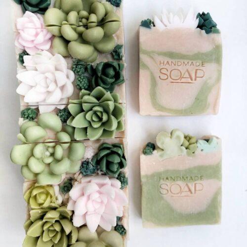 Натуральное мыло Суккулент