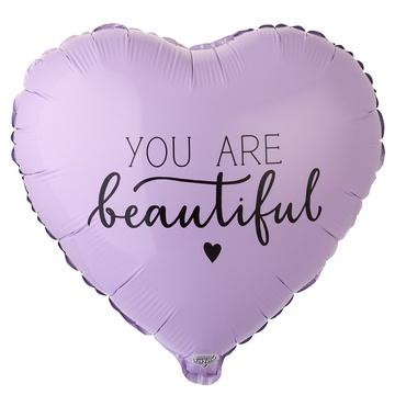 Сердце (18″/46 см) YOU ARE BEAUTIFUL